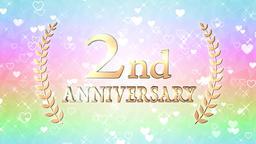 2nd anniversary Animation