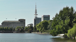 Alster Hamburg 02 Footage
