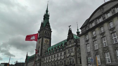 Hamburg City Hall 01 GIF