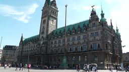 Hamburg City Hall 12 Footage
