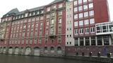 Hamburg Downtown 02 canal Footage