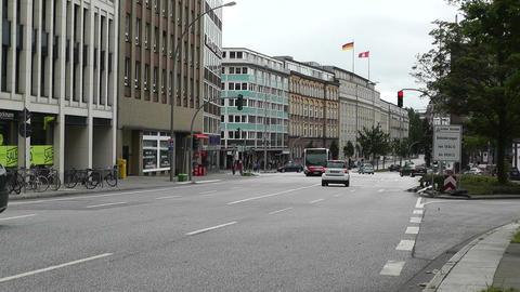 Hamburg Street 04 traffic Footage