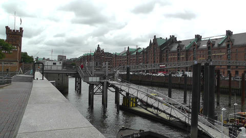 Port of Hamburg 02 Stock Video Footage