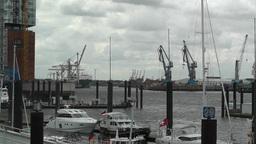 Port of Hamburg 04 Stock Video Footage