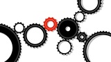 Gears, seamless loop Animation