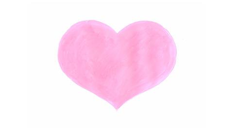 Handwritten heart Animation