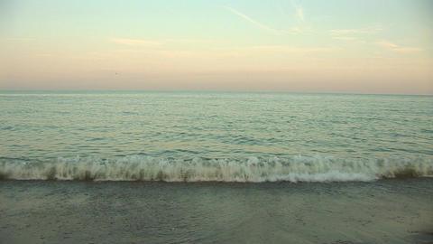 sunset waves Footage