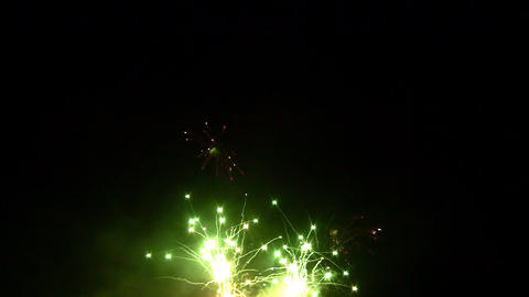 fireworks 04 Stock Video Footage