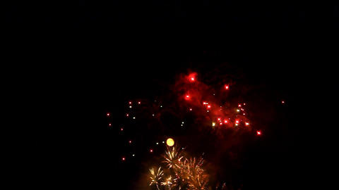 fireworks 13 Stock Video Footage