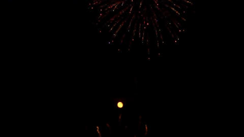 fireworks 11 Stock Video Footage