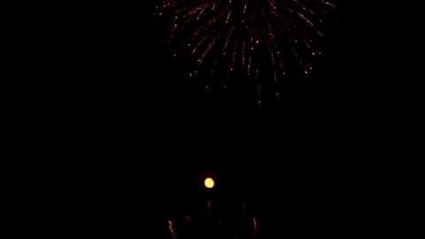 fireworks 11 Stock Video Footage