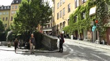 Stockholm Downtown 29 Gamla Stan Footage