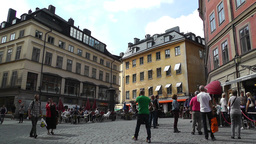 Stockholm Downtown 31 Gamla Stan Footage