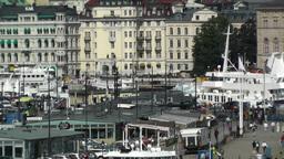 Stockholm Downtown 37 Gamla Stan Stock Video Footage