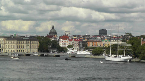 Stockholm Downtown 41 Footage