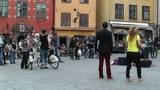 Stockholm Downtown 53 Gamla Stan Footage