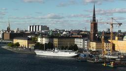Stockholm Downtown 61 Gamla Stan Stock Video Footage