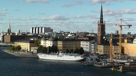 Stockholm Downtown 61 Gamla Stan Footage