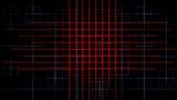tech power lines mesh,virtual computer electric circuit Animation