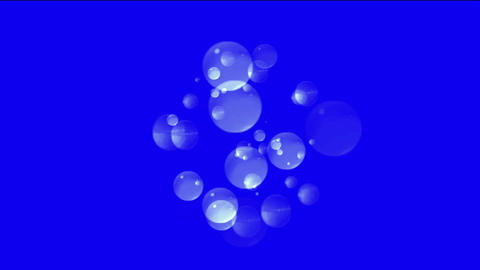 bubble & blister underwater,pearls & fish roe Stock Video Footage