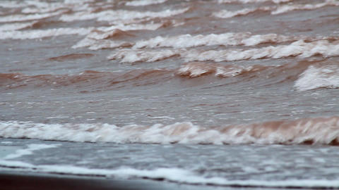 Beach - Waves Stock Video Footage