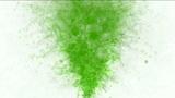 green erupt smoke Animation