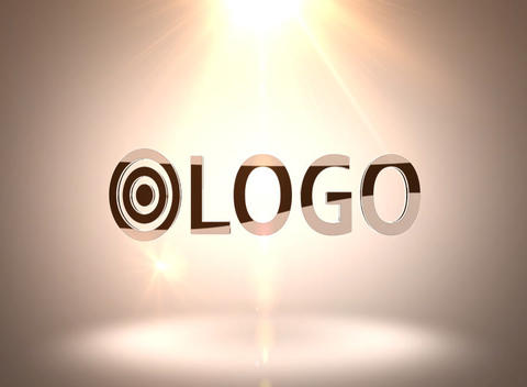 Black 3 D Logo Reveal After Effects Template