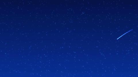 shooting star 001 blue CG動画
