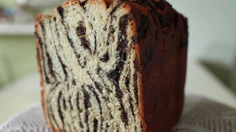 papaverous bread Footage