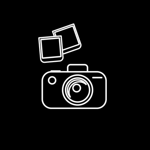 Camera Thin Icon With Alpha Channel GIF