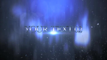 Epic Text Trailer After Effects Projekt