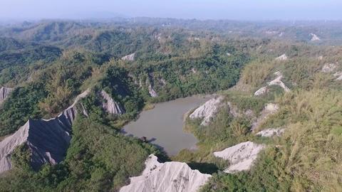 DJI P4 Taiwan Tainan Aerial Drone Video Niu Pu Mudstone 20160924 -2 Footage