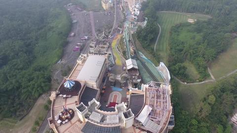 DJI P4 Taiwan Aerial Video Kaohsiung E-Da Theme Park 20161029 0 Footage