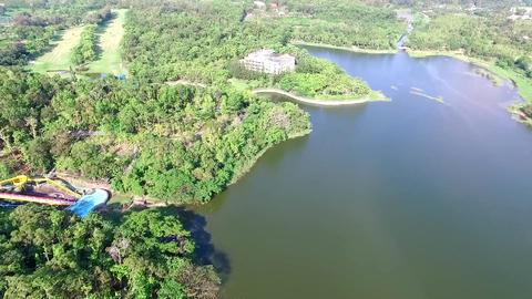 DJI P3A Taiwan Tainan Aerial Video Hu Tou Pi Scenic Area 20150905 -3 Footage
