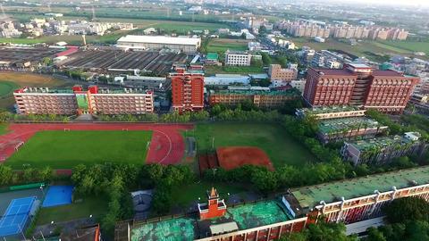 DJI P3A Taiwan Tainan Aerial Video Far East University 20150925 -2 Footage