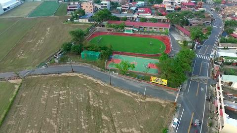DJI P3A Taiwan Chiayi Aerial Drone Video ZhongLiao Elementary School 20151010 -4 Footage
