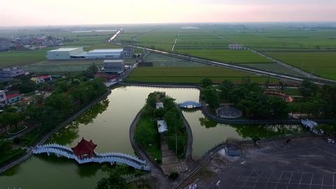 DJI P3A Taiwan Chiayi Aerial Drone Video ZhongLiao Elementary School 20151010 -3 Footage