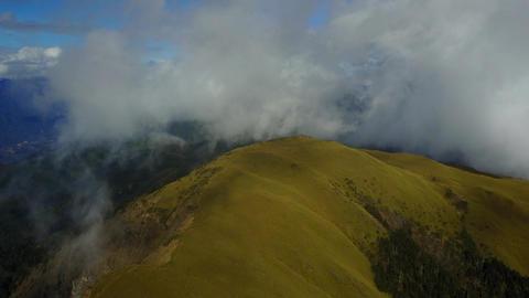 DJI MAVIC 4K Taiwan Aerial Drone Video Nantou Hehuan Mountain North Peak 2016120 Footage