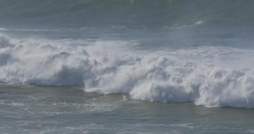 Beautiful And Huge Waves, Atlantic Ocean - Native Material Footage