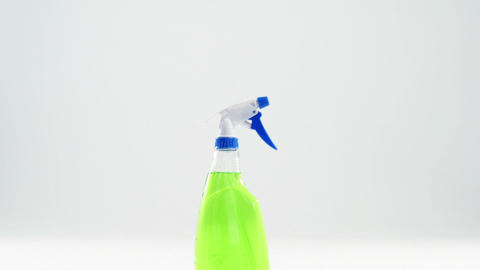 Close-up of spray bottle Footage