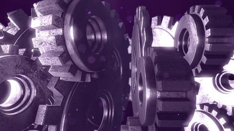 SHA Gear Image BG Violet Animation