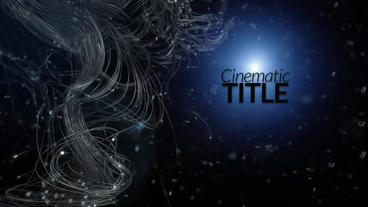 Cinematic Titles After Effects Projekt
