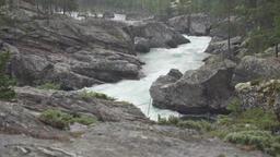Ridderspranget rapids in river Sjoa, Norway