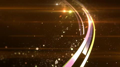SHA Ring Particle BG Yellow Animation