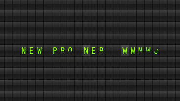 Flip board text After Effectsテンプレート