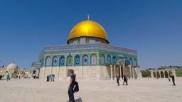 Dome Of The Rock - Jerusalem, Israel stock footage