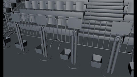Triathlon Transition Area 3D Modelle