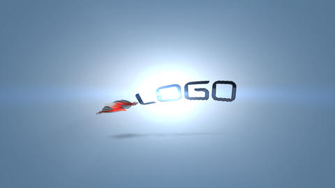 Simple Slice Logo 04 After Effects Template