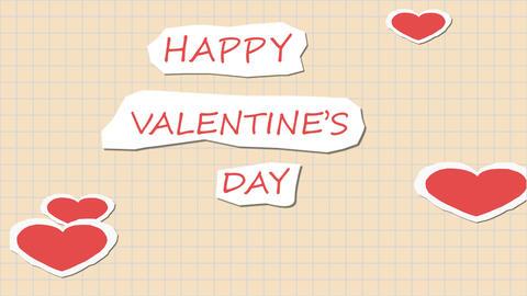 Paper Valentine 애니메이션
