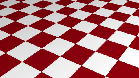 Checkered Motion Background made in AEcs5 in red and white Animation